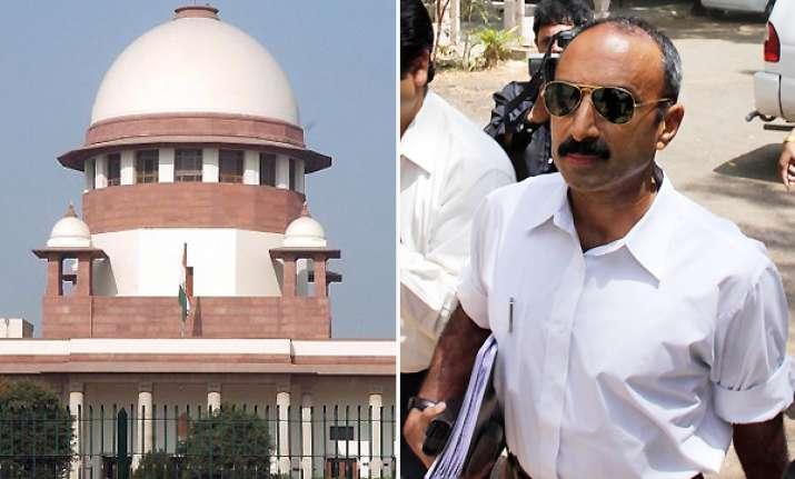 sc denies relief to ips officer sanjiv bhatt in custodial