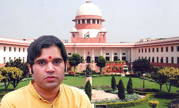 sc notice to varun gandhi on alleged hate speech in 2009