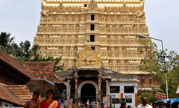 sc orders videography of kerala temple treasure unearthing