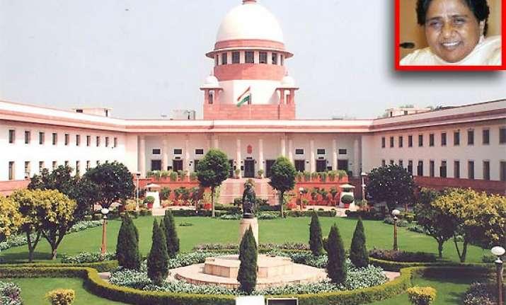 sc quashes mayawati s land acquisition for jail