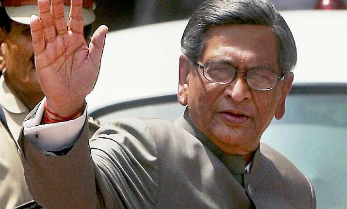 sc stays lokayukta proceedings against s m krishna