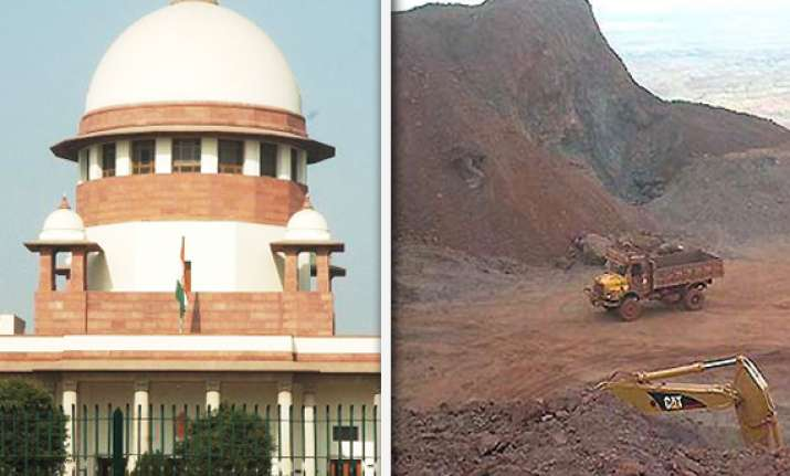 sc suspends mining in 2 more districts of karnataka