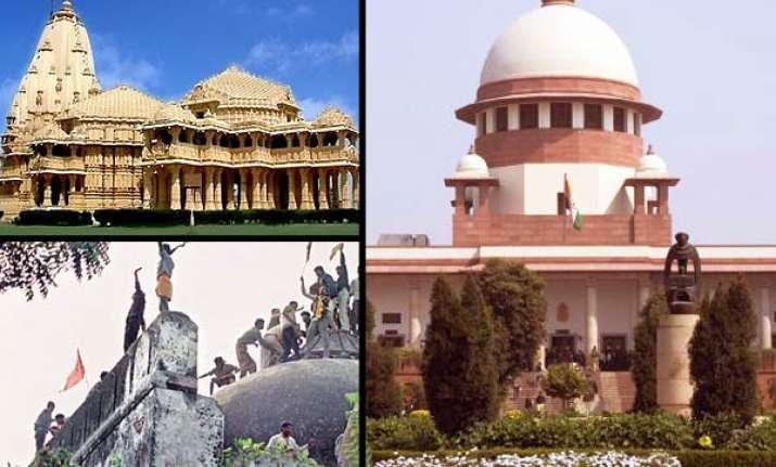 sc to hear ramjanmbhoomi babri masjid dispute on monday