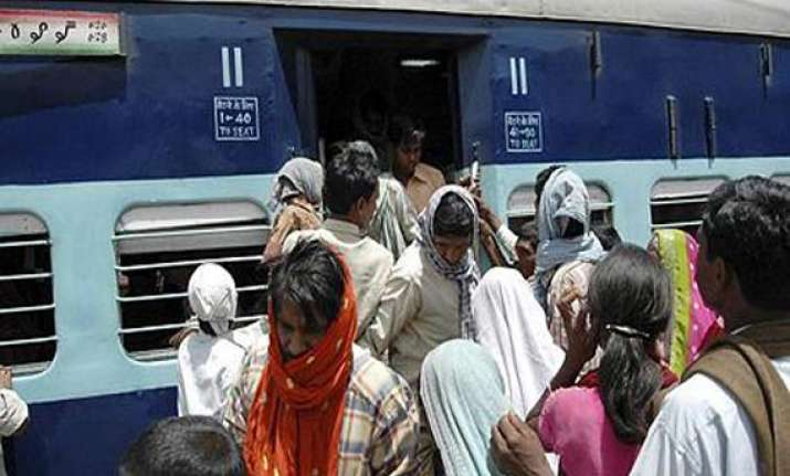 sms based rail ticketing from july
