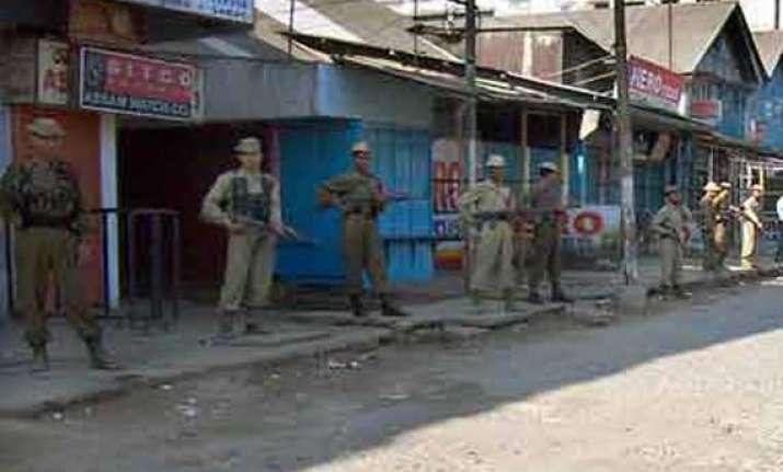 sp policeman killed by militants in assam s karbi anglong