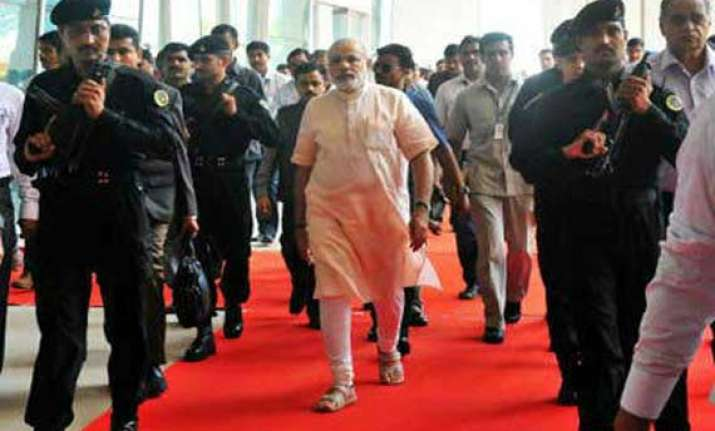 spg takes over security of pm narendra modi