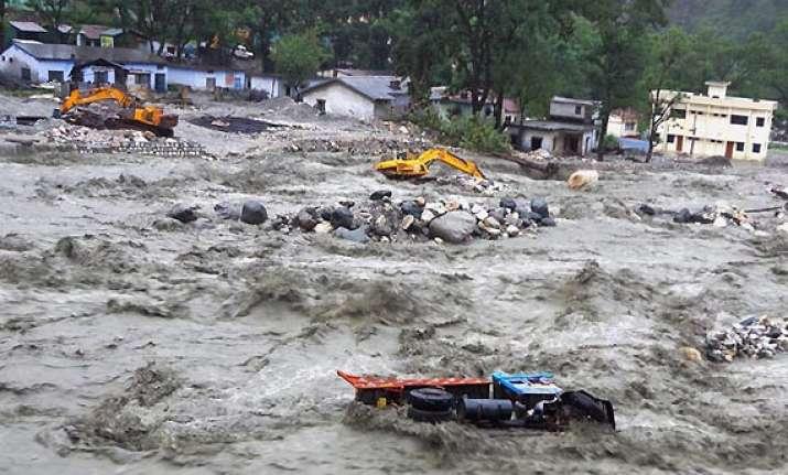 ssb academy damaged in uttarakhand rains