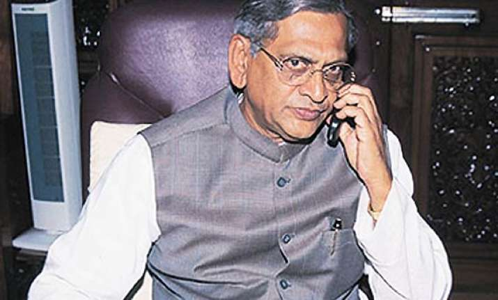 s m krishna 2 ex cms booked over illegal mining charges