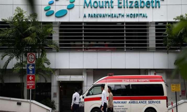 singapore s mount elizabeth hospital had treated rajinikant