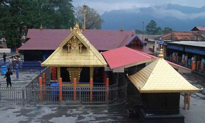 sabarimala temple purified after 35 year old woman entered