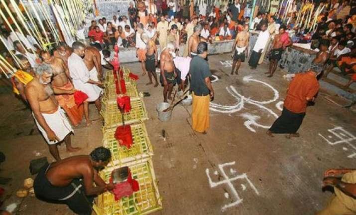 sabarimala pilgrimage gets under way