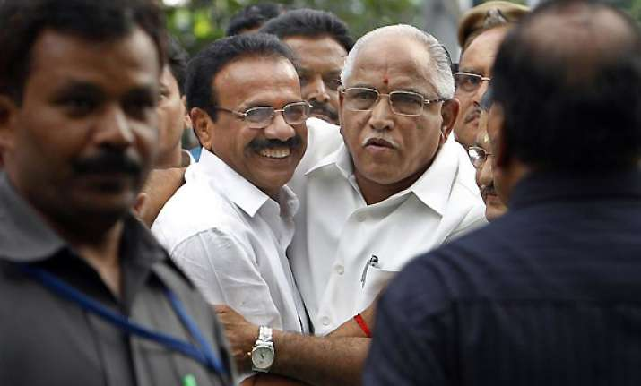 sadananda became cm by luck says yeddyurappa