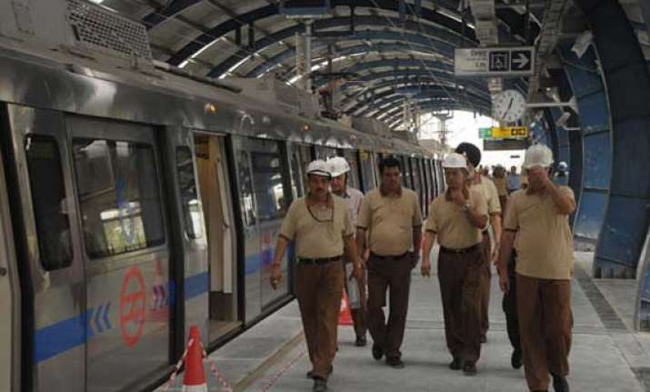 safety inspection of central secretariat mandi house metro