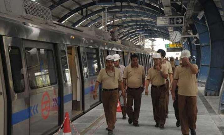 safety inspection of central secretariat mandi house metro