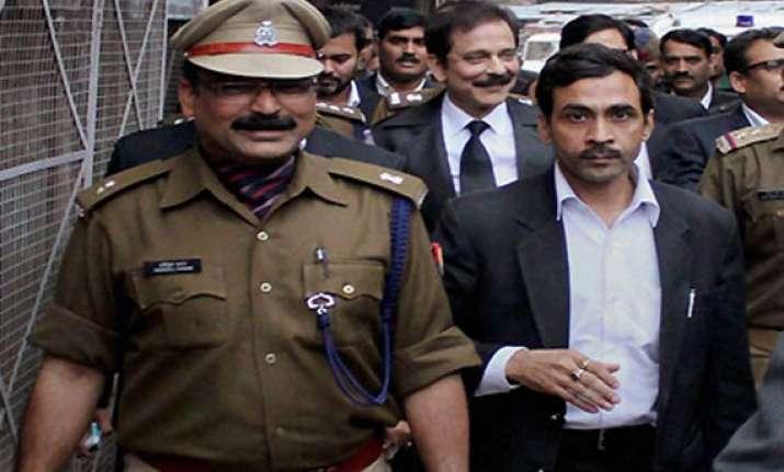 sahara chief subrata roy to be taken to delhi today