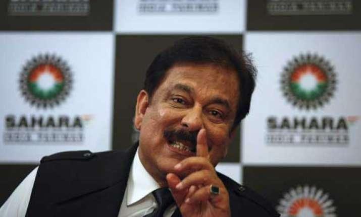 sahara withdraws proposal from sc