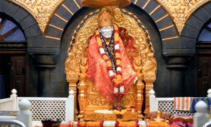 sai temple receives rs 5 cr in cash gold from devotees
