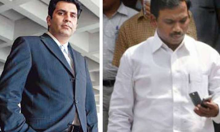 sanjay chandra was a regular visitor to a. raja s house