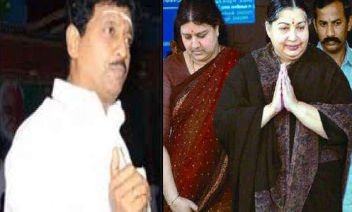 sasikala s brother arrested in house demolition case