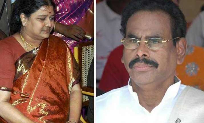 sasikala s husband m natarajan arrested