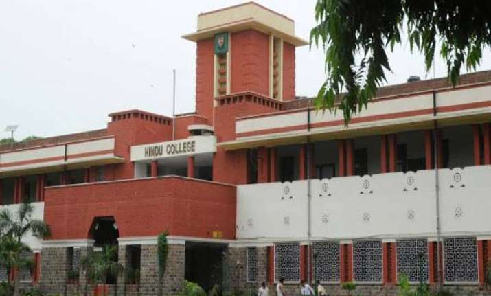 scrapping of quota hc seeks response from du s hindu college