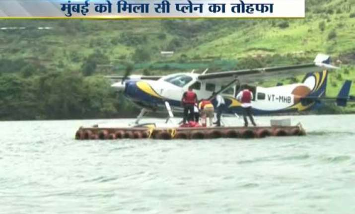 first seaplane service from mumbai takes off for lonavala