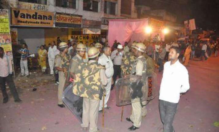 security reviewed ahead of durga puja in faizabad