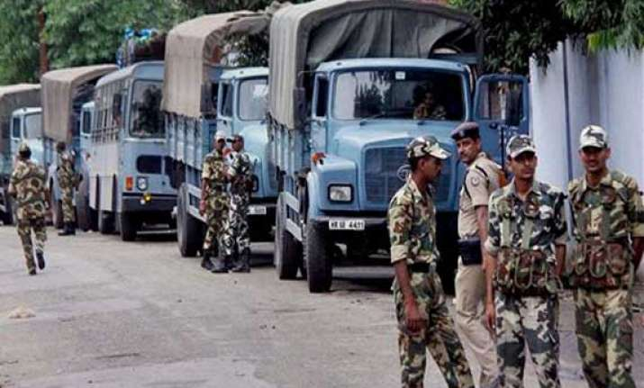 security stepped up in riot affected villages in