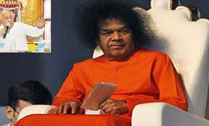 sathya sai trust says seized money was for building memorial