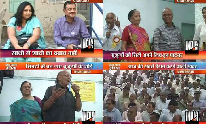 senior citizens choose live in partners in ahmedabad meet