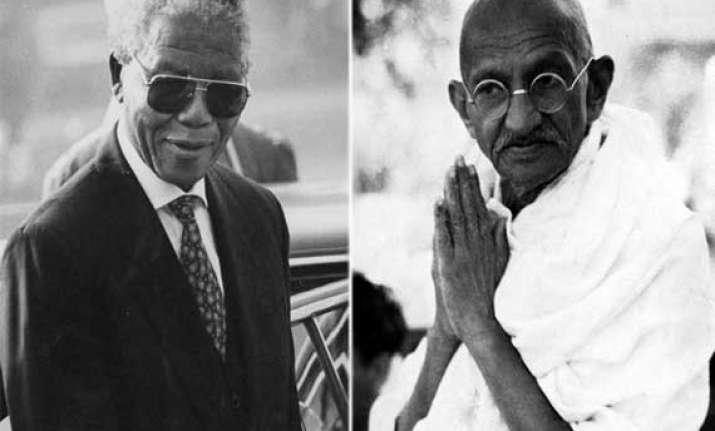 sense of humour bonded mahatma and mandela tushar gandhi