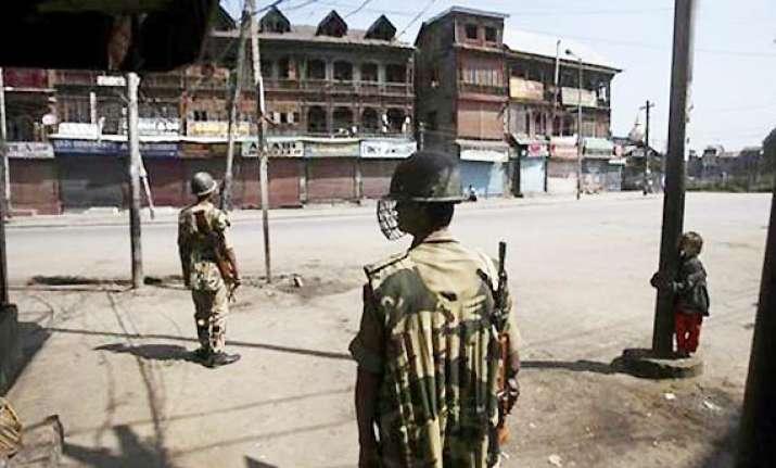 separatist shutdown affects life in srinagar