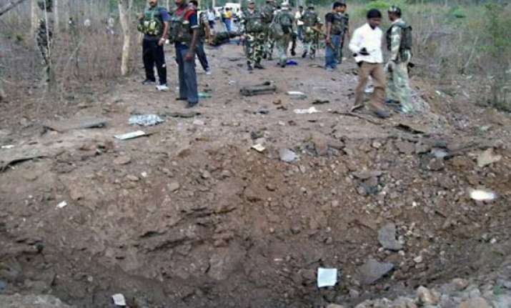 seven killed in bihar landmine blast