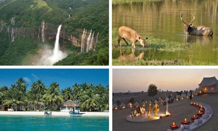 seven must see places in india