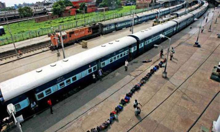 several trains cancelled diverted due to rains in andhra