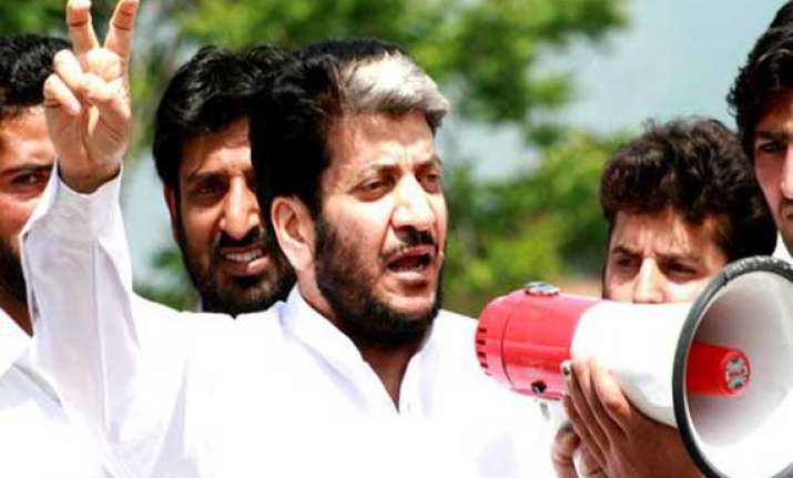 shabir shah says india trying to divert attention from