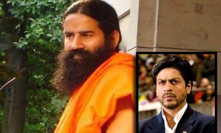 shah rukh khan describes ramdev s stir as politically