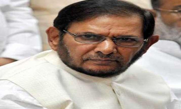 sharad to campaign for kejriwal in varanasi