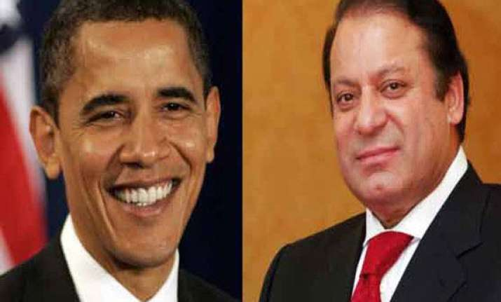 sharif to meet obama today to raise drone and kashmir issues