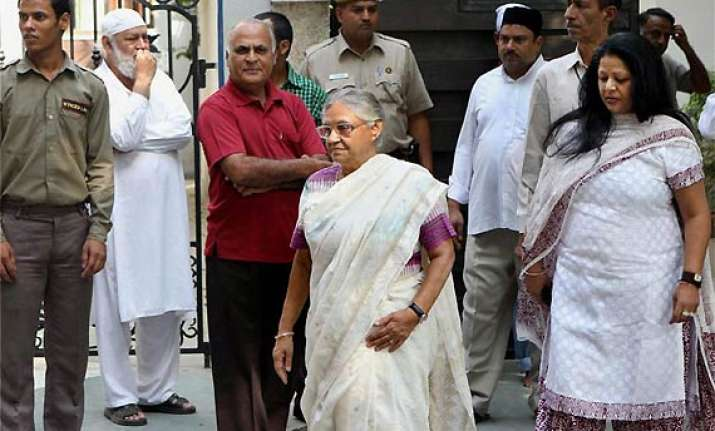 sheila dikshit admitted to hospital