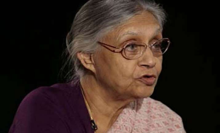sheila has not been indicted by cag says delhi govt