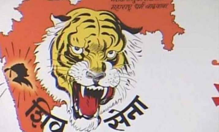 shiv sena objects to allotment of land to pawar led