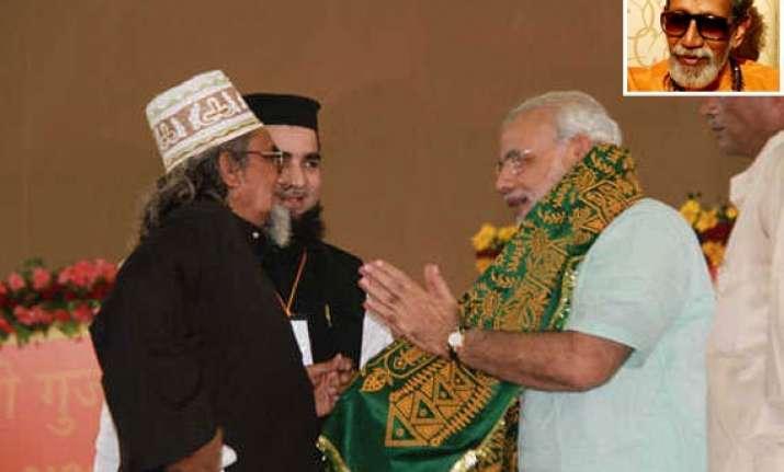 a042df53c3d Shiv Sena Praises Modi For Not Wearing Skull-Cap