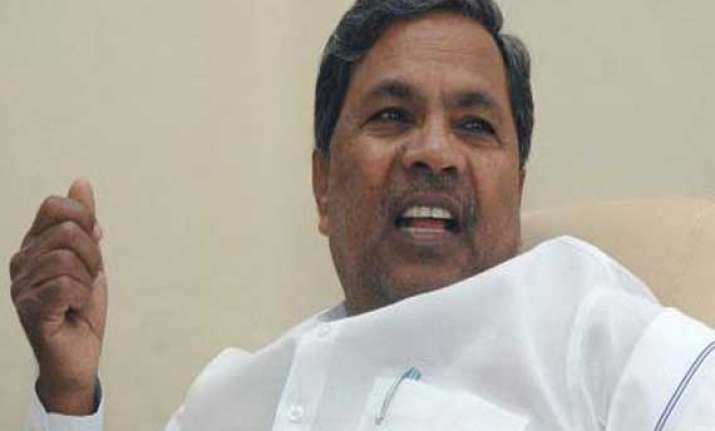 siddaramaiah completes one year in office quietly