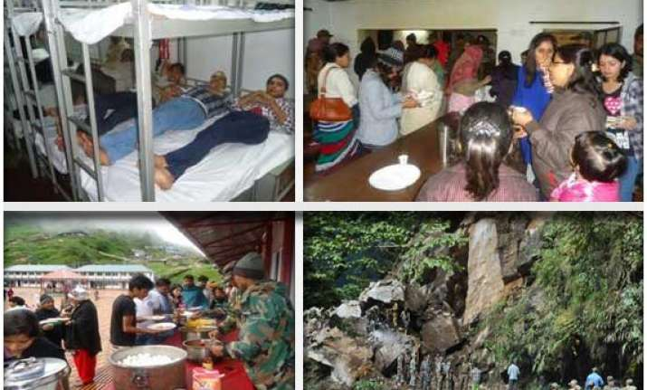 sikkim landslide army rescues 230 tourists stranded near
