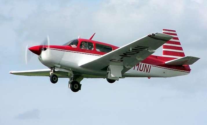 single engine plane crashes in deogarh
