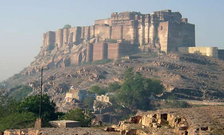 six rajasthan hill forts in unesco world heritage list