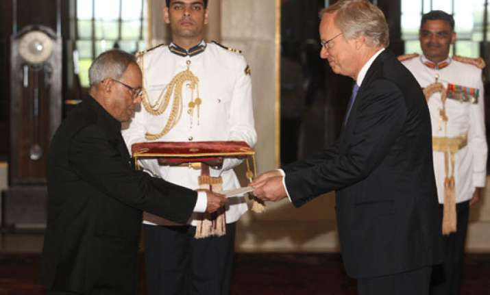 six envoys present credentials to the president