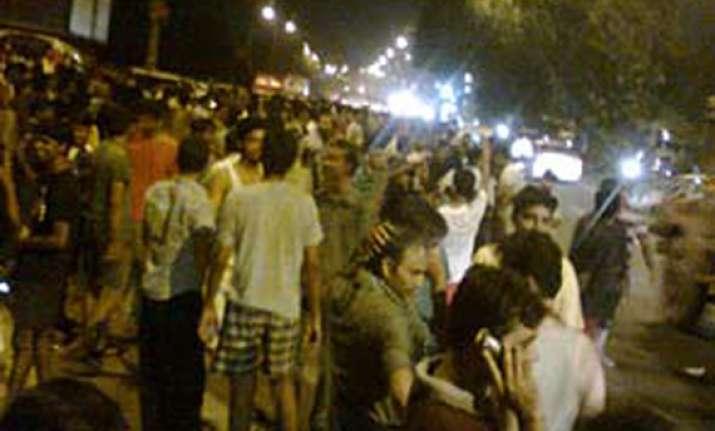 slight intensity quake in and around delhi