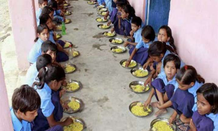 snake found in mid day meal 54 children taken ill